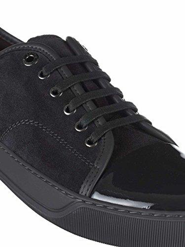 Lanvin Men's FMSKDBB1VBALP151818 Grey Leather Sneakers 2014 newest online limited edition cheap price huge surprise reliable for sale RJoEeMkZru