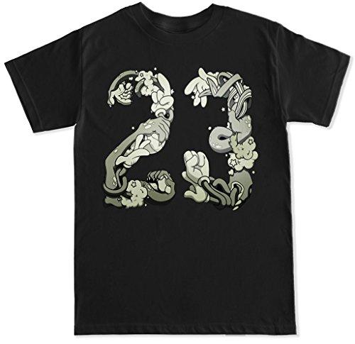 Jam China (FTD Apparel Men's Space Jam 23 T Shirt - XXL Black)