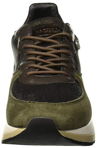 polo Verde Valery Assn Femme Green U Milg Baskets military s 5qf476