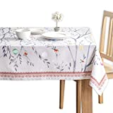 Maison d' Hermine Fairy Christmas 100% Cotton Tablecloth 54 Inch by 54 Inch. Perfect for...