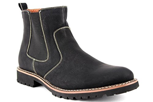 Black Boots Dress Round Ferro High 506020 Toe Casual Mens Aldo Chelsea Ankle xAxPq6C