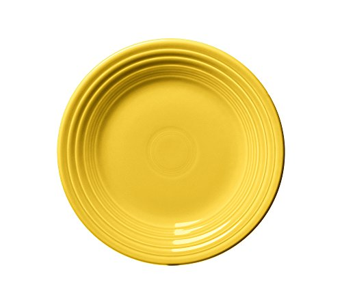 Fiesta Dinnerware Luncheon Plate Sunflower