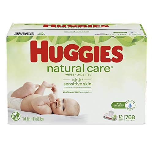 HUGGIES Natural Unscented Sensitive Water Based product image
