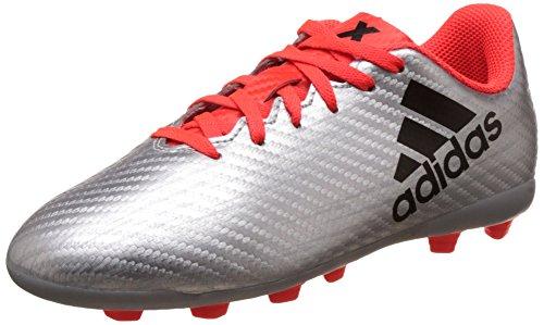 J 4 Bambino Da Scarpe Fxg Calcio Rojsol Adidas X 16 Negbas plamet Plata xqEIwBWRp