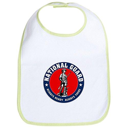 CafePress - National Guard Logo round Bib - Cute Cloth Baby Bib, Toddler Bib