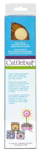 - Cuttlebug 2001248 Quilling Kit, Crown Rosette