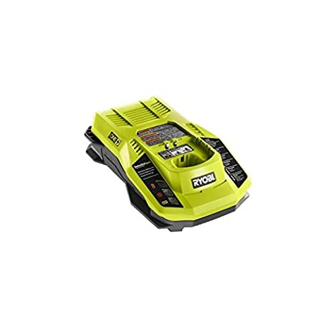 Ryobi P117 One+ 18 Volt Dual Chemistry IntelliPort Lithium Ion and NiCad Battery Charger (Battery Not Included, Charger (Ryobi P108 Charger)