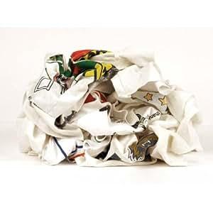 TTC Reclaimed White Cotton Economy Rag w/ Print - Model: 42272