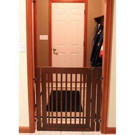 Dynamic Accents Citadel 36'' Tall Pressure Mount Pet Gate