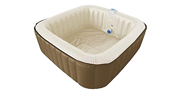 G Spa Square Jacuzzi hinchable Whirlpool aprox. 1, 90 m x 1 ...