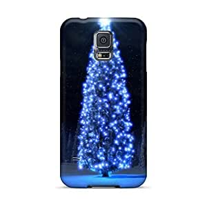 Samsung Galaxy S5 Oxd2125KkEh Custom Stylish Christmas Tree Series Shock-Absorbing Cell-phone Hard Cover -EricHowe