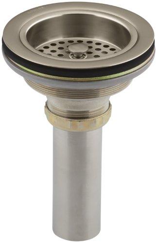 KOHLER K-8801-BV Duostrainer Sink Strainer, Vibrant Brushed ()