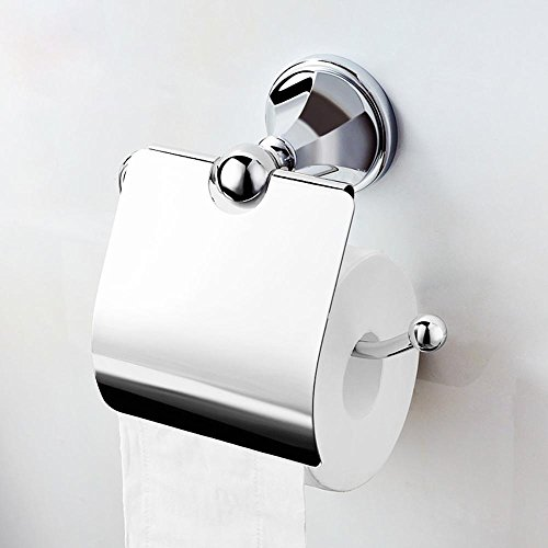 Modern luxury fashion bathroom toilet paper holder Toilet roll holder bathroom accessory,gold by JinRou Toilet?paper?holder (Image #5)