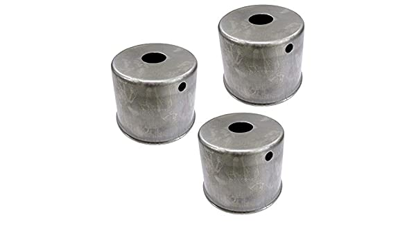 3 Pack Dust Cup Cover For Kubota ZD326S Mowers