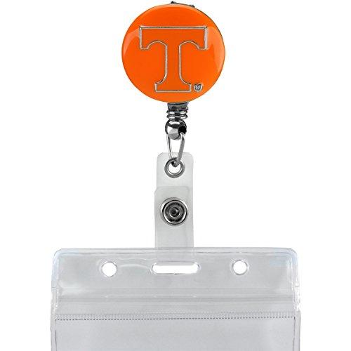 Sandol University of Tennessee Retractable Badge Reel (Orange Background) by Sandol