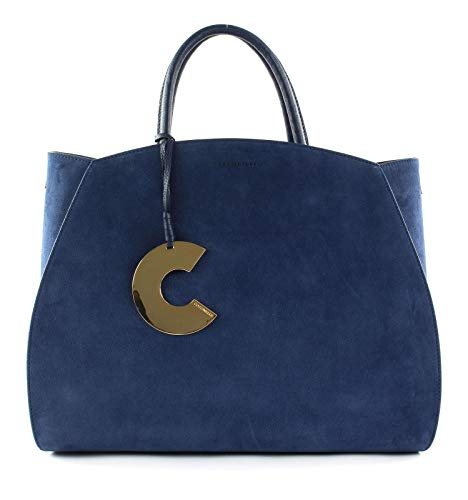 Coccinelle Concrete Suede Shopper Ink