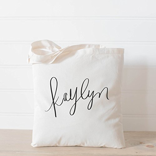 Calligraphy Tote Bags - 3