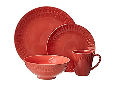 Amazon.com | Sango Contempo 16-pc. Dinnerware Set: Dinnerware Sets