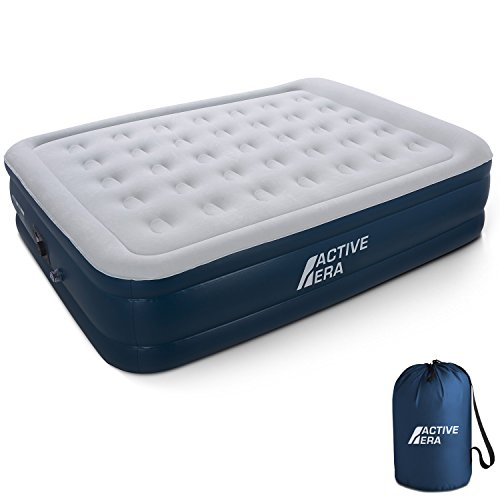 queen inflatable mattress coleman - 1