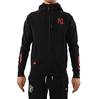 Sudadera capucha New Era – Mlb New York Yankees Nights Fz negro/rosa talla: XS (X-Small)