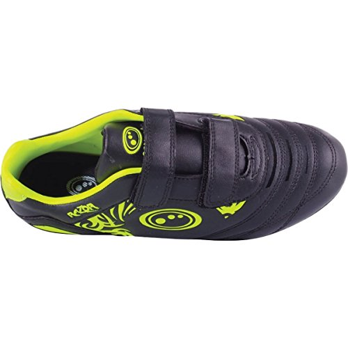 Razor Velcro Gelb Stud yellow Jungen Fußballschuhe Black 6 Optimum SqE4y5wq