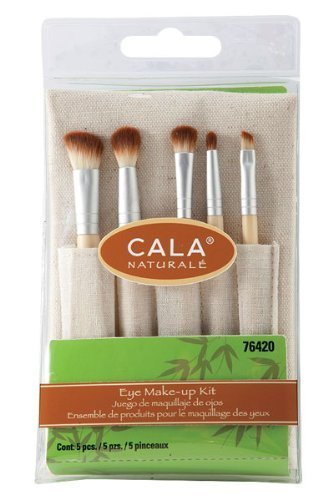 CALA Naturale - Eye Make-Up Brush Kit (5 PCS) #76420 (Cala Makeup Brushes compare prices)