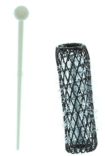 16 Brush Rollers Amp Pins Small Mini Hair Curlers Bristles 2