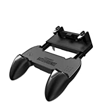 BLENDIA Mobile Game Controller PUBG Mobile Controller pubg Key Gaming Grip Gaming Joysticks 4.5-6.5inch Android iOS Gaming Accessory Kit (Black, for Android, iOS)