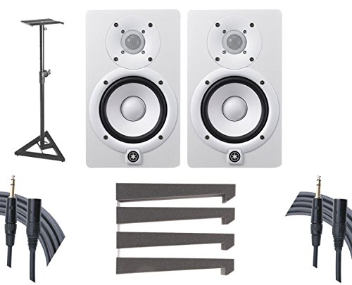 (Yamaha HS7W Pair + Stands + Mopads + Mogami Cables)