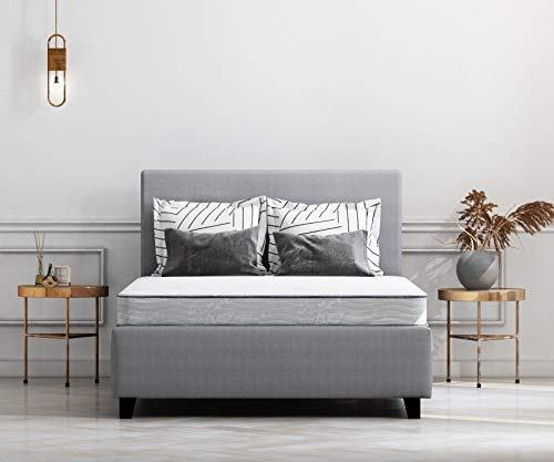Signature Design by Ashley M96321 Sierra Sleep Bonell Full Size Mattress, White
