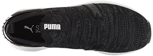 Puma Men's Black Gate Nrgy Knit PUMA Engineer Iron Sneaker Neko 4gY4xwR