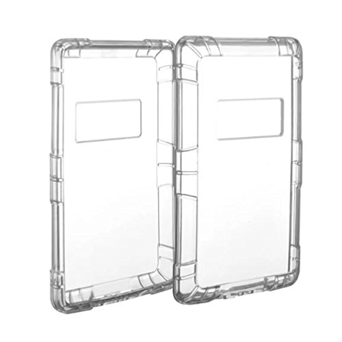 DZT1968 Hybrid Clear Back Elegant Casual Case Cover For Amazon Kindle Fire HD 7 2015 (clear)
