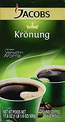 Jacobs Kronung, 17.6 Oz. Ground Coffee (6 Pack)