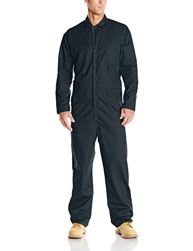 Red Kap Men's Long Sleeve Twill Action Back Coverall, Spruce Green, 48