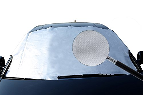 "Premium Windshield Snow Cover - Ultra Durable Weatherproof Design - Protects Windshield (M 5.41"" 3.77"")"