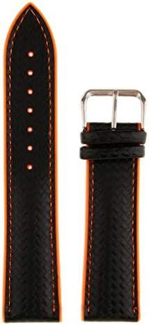 シリコン時計バンド ゴム時計ストラップ 防水 全2サイズ3色 - オレンジ, 22mm