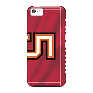 AlissaDubois Iphone 5c Protector Hard Phone Cases Custom Lifelike Tampa Bay Buccaneers Image [LJw4616WhLR]