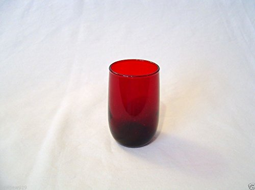 Ruby Red 5 Ounce Juice Anchor Hocking