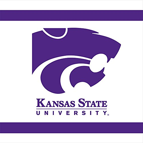 Mayflower Distributing Company 20 Count Kansas State Lunch Napkin, (Kansas State Logo Square)
