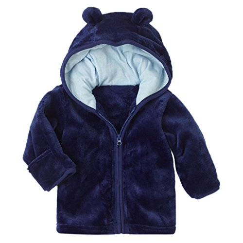 Hooded Fleece Coat - 8
