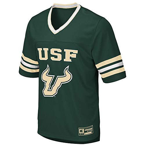 Colosseum Mens USF South Florida Bulls Football Jersey - 2XL