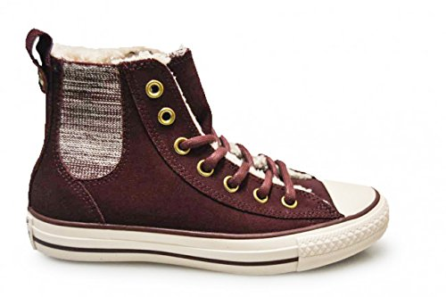 Unisex Converse Chuck Taylor CT Chelsee Hi B Purple 4.5 UK - Converse Women High Top Purple