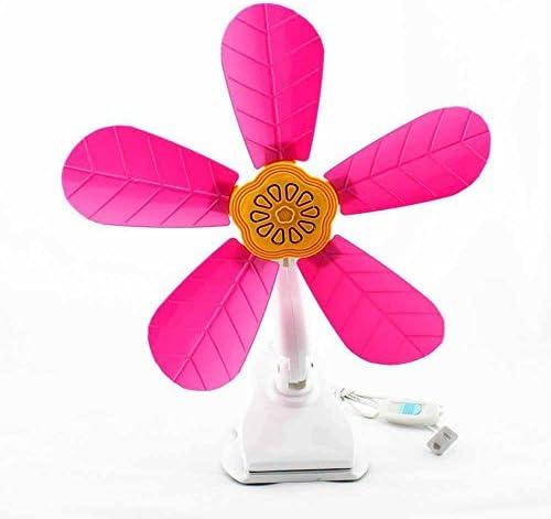 Kaxima Hoja Clip fan cabecera ventilador estudiante dormitorio ...