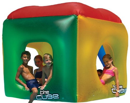 Cool Pool (Swimline The Cube Inflatable Pool Float)
