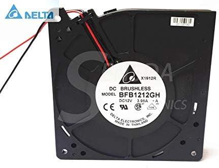 for delta cooling fan 12V 3.96A BFB1212GH 12032 120x120x32mm 12cm server inverter blower
