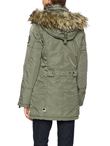 Khujo Verde Nadal Cappotto Donna 326 Olive Smoked aqar04B