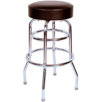 Budget Bar Stools 0-1952BLK Commercial Grade Restaurant Swivel Bar Stool 17  L  sc 1 st  Amazon.com & Amazon.com: Busted Knuckle Garage BKG-86 Garage Stool: Automotive islam-shia.org