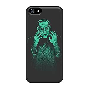 Awesome Frankenstein Monster Holidays Flip Cases With Fashion Design For Iphone 5/5s