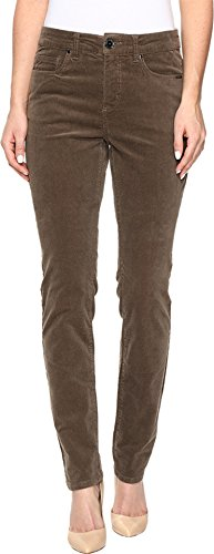 FDJ French Dressing Jeans Women's Olivia Slim Leg Plush Cord In Taupe Taupe Jeans (Plush Pant Corduroy)