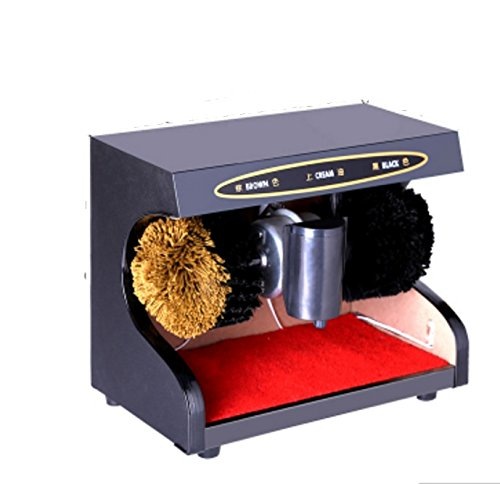 ZZHF 靴ポリッシャー自動センサー垂直Shoeshine世帯デュアルモーター電動靴ブラシマシン3色使用可能 クリーニングブラシ (色 : C) B07L2NLNC2 C